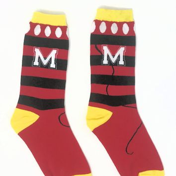 M Is For Magic / Dots & Bows Socks