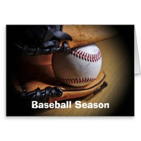 GreetingCard: Baseball Season Greeting Card