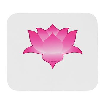 Lotus Flower Design Gradient Mousepad by TooLoud