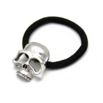 Punk Style Cutout Skull Metal Hair Accessory