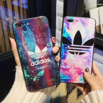 The New Adidas Giraffe Print IphoneX 8 8 Plus 7 7 Plus Cover Case