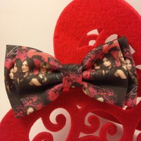 Pretty Little Liars Double Bow Hair Clip