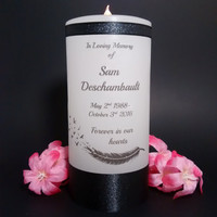 Memorial Candle, Personalized Candle, In Loving Memory, Memorial Candles, Candle, Memorial Gifts, Sympathy Gifts, Unique Gift, Custom Gifts,
