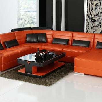 Luxury Verona U Shaped Morden Living Sofa With Chaise