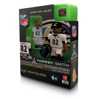 NFL Baltimore Ravens Torrey Smith Super Bowl Champion OYO Figure
