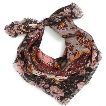 Treasure & Bond Print Square Silk Scarf | Nordstrom