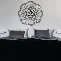 Mandala OM Version 5 Decal Sticker Wall Vinyl