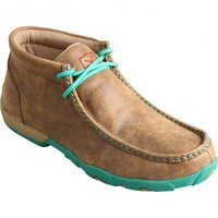 Twisted X Women's Turquoise Driving Mocs - Sheplers