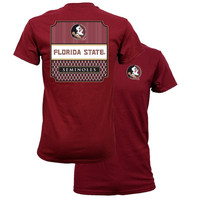 Southern Couture Florida State Seminoles Preppy Frame T-Shirt