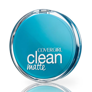Clean Matte Pressed Powder For Oily Skin | COVERGIRL