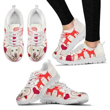 Valentine's Day Special Labrador Retriever Print Running Shoes For Women- Free Shipping