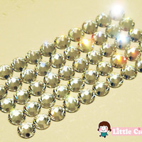 2mm Swarovski SS6 2058 Swarovski Elements Rhinestones Flatback - 50pcs Clear 001 14 Faceted Cut Rhinestones Cell Phone Deco Nail Art