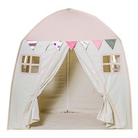 Rectangle Yurt Teepee Play Tents With 2 Doors - Childrens' Modern Play House