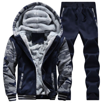 Mens Tracksuit 2016 Winter Fashion High Quality Men Thrasher Suits Jacket Jogger Pants And Sweatshirts Hoodies Sets Plus Size