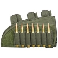 "Fox Outdoor Products Rifle Butt Stock Cheek Rest, Olive Drab, 8"" x 4.5"", Right"