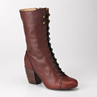 FOSSIL - Shay High Heel Lace Boot
