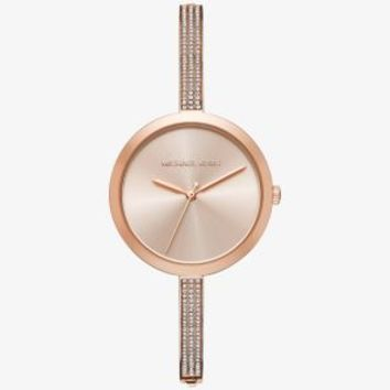 Blakely Pavé Rose Gold-Tone Watch | Michael Kors