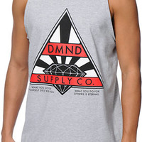 Diamond Supply Co Eternal Grey Tank Top