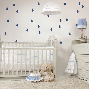 Raindrops Mini-Pack Wall Decals