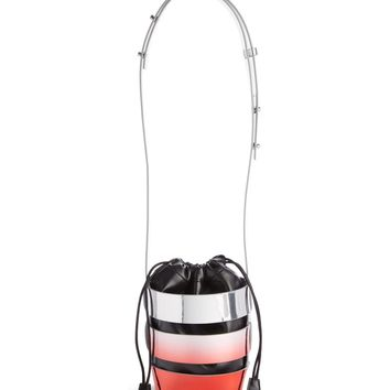 paco rabanne Mini Cage Dégradé Faux Leather Bucket Bag | Nordstrom