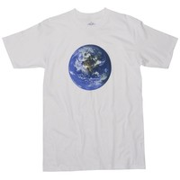 Glorious Earth's Natural Colorful beauty screen printed on a White Graphic Tee