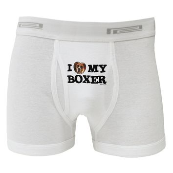 I Heart My Boxer Boxer Briefs  by TooLoud