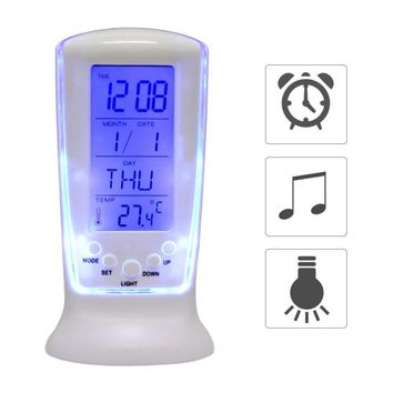 Digital Alarm Clock - LED Watch