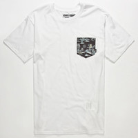 Vans Star Wars Darkside Hoth Mens T-Shirt White  In Sizes
