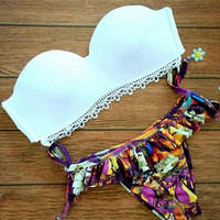 2016 Summer Push-up Bikini Set Beach Swimsuit Gift 92