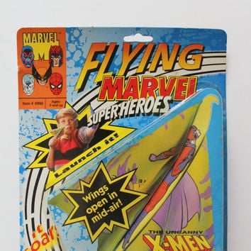 Vintage Toy Biz X-Men Flying Marvel Superheroes Magneto 1991 NIB