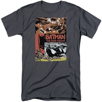 ac NOOW2 Batman - Old Movie Poster Short Sleeve Adult Tall