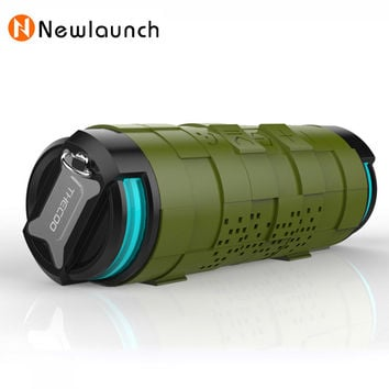 10W Portable Waterproof Stereo Super Bass Bluetooth Speaker Outdoor Wireless Speaker for bike Support TF Card & Power Bank