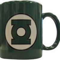 ROCKWORLDEAST - Green Lantern, Coffee Mug, Logo