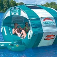 SportsStuff Cabana Islander Floating Lounge:Amazon:Toys & Games