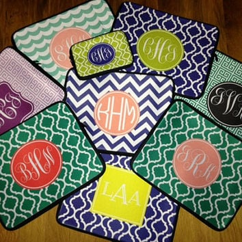 "Laptop Sleeve Monogrammed or Personalized - Fits 15"" and 17"" Laptops by sugarandspicenola.com"