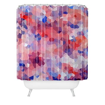 Rosie Brown Flamingo Shower Curtain