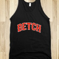 Betch Baseball Tank - Awesome fun #$!!*&
