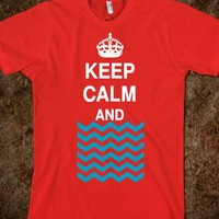 KEEP CALM AND CHEVRON