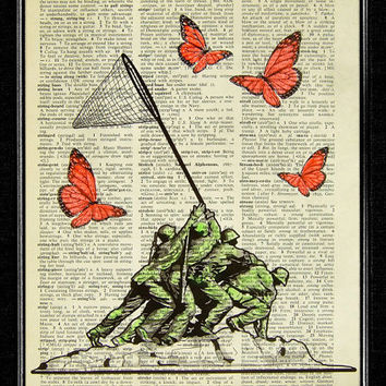 The Butterfly Collectors  ORIGINAL ARTWORK hand by popcapopca