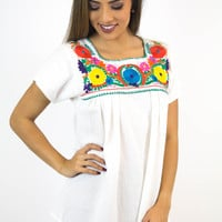 Fiesta Embroidered Top