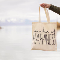 Seeker of Happines  Canvas Tote Bag You by seekerofhappiness