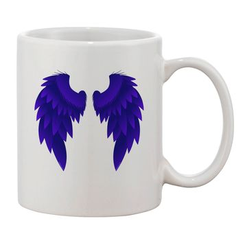 Epic Dark Angel Wings Design Printed 11oz Coffee Mug by TooLoud