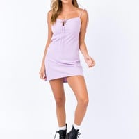 Innocence Mini Dress Lilac | Princess Polly