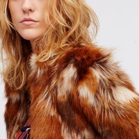 Free People Nomad Faux Fur Jacket