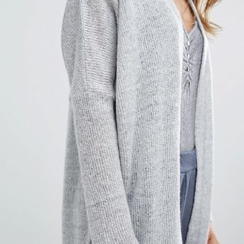 Stitch & Pieces Maxi Cardigan at asos.com