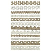 "12"" Burlap Borders 