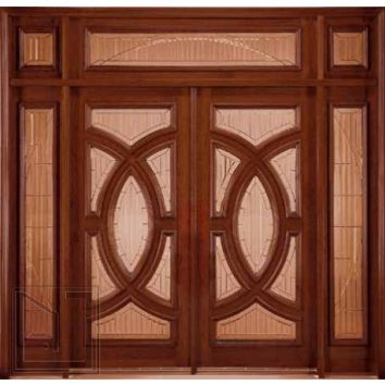 jeld-wen 252 Genuine Mahogany Doors and Sidelights 603 Transom