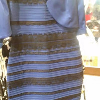 Optical Illusion Dress (Is It Black/Blue or White/Gold?)
