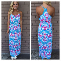 Bogota Nights Maxi Dress