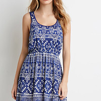 Southwestern-Inspired Geo Print Dress